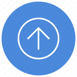 arrow, direction, gps, location, navigation, pointer, up icon