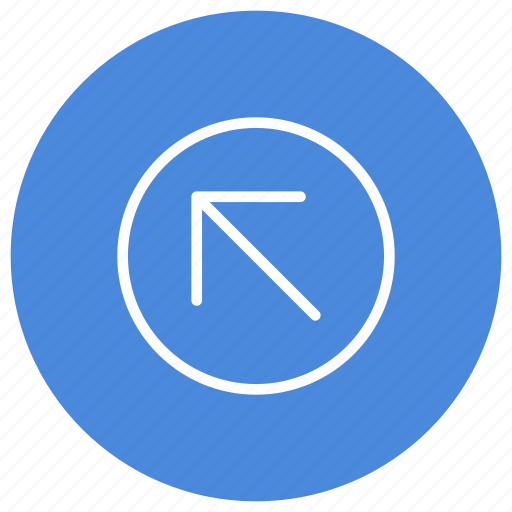 Arrow, left, up, direction, gps, location, navigation icon - Download on Iconfinder