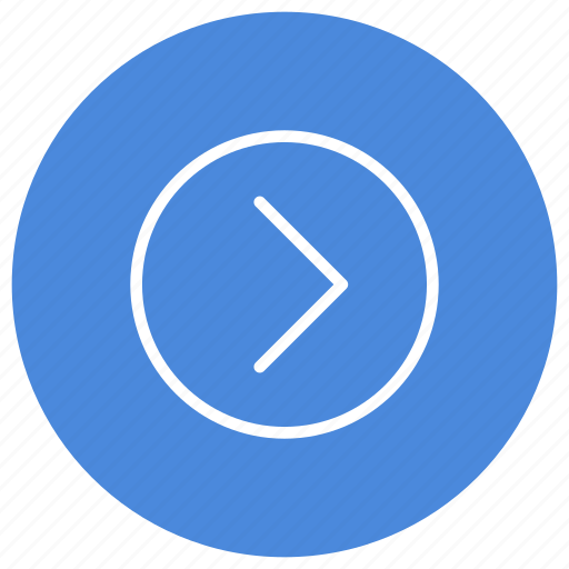 Expand, right, arrow, direction, gps, location, navigation icon - Download on Iconfinder