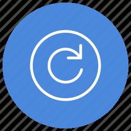 arrows, f5, loading, page, refresh, web page icon
