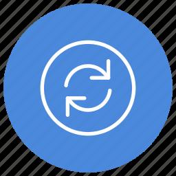 arrow, arrows, f5, refresh, sync, synchronize, update icon