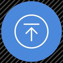data, documents, files, folders, server, storage, upload icon