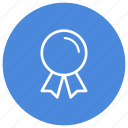 achievement, award, badge, certificate, certification, medal, prize icon