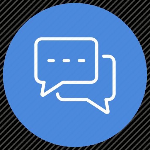 bubble, chat, communication, conversation, exchange, interaction, message icon