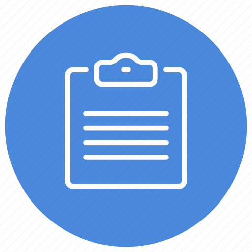 clipboard, document, file, office, paper, sheet, text icon