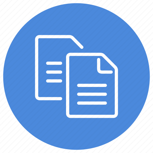 Copy, clipboard, documents, sheet, page, file, document icon