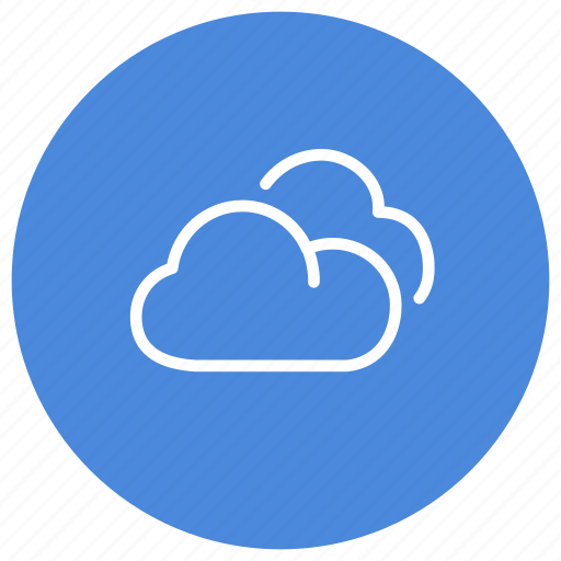 clouds, cloudy, data, information, storage, weather icon