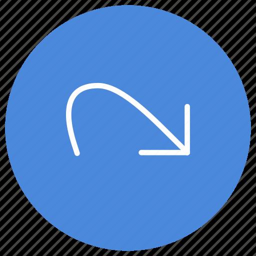 command, forward, go, move, redo icon