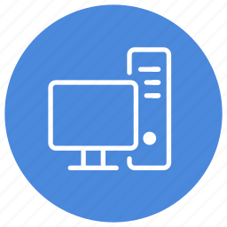 computer, device, display, monitor, pc, professional, workstation icon