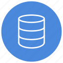 data, database, information, storage icon