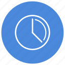 clock, days, delay, hours, minutes, schedule icon