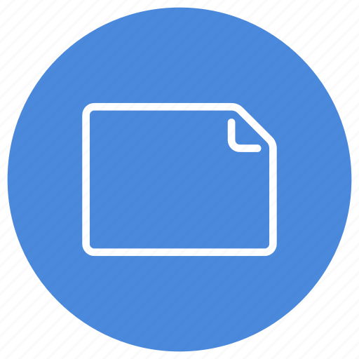 create, document, file, landscape, new, paper, sheet icon