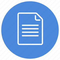 content, document, file, paper, read, sheet, text icon