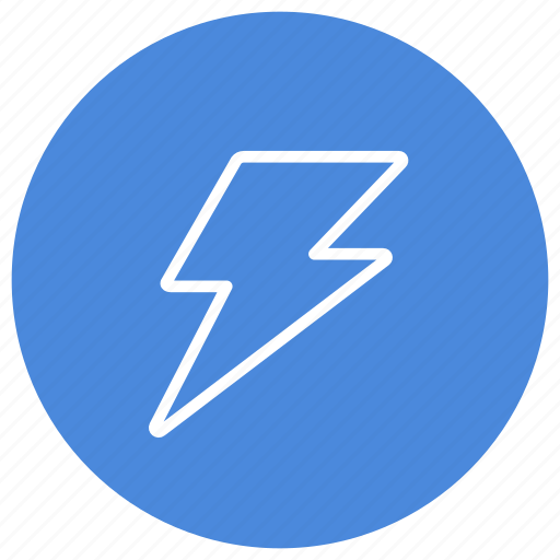 charge, electricity, execute, high voltage, lightning, thunder, thunderstorm icon