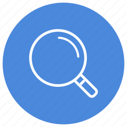 find, glass, look for, look up, magnifying, search, zoom icon