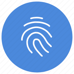 access, fingerprint, personal, protect, safety, secure, security icon