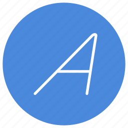 font, italic, letter, mode, style, text icon