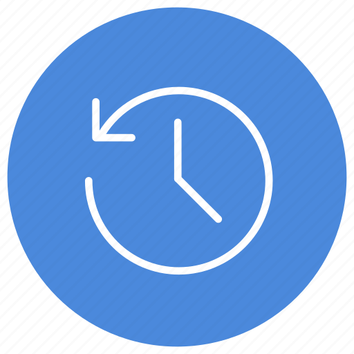 History, hour, time, previously, historic, previous icon