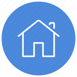 apartment, estate, home, house, property, real icon
