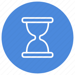 hourglass, minutes, seconds, time, timer, wait icon