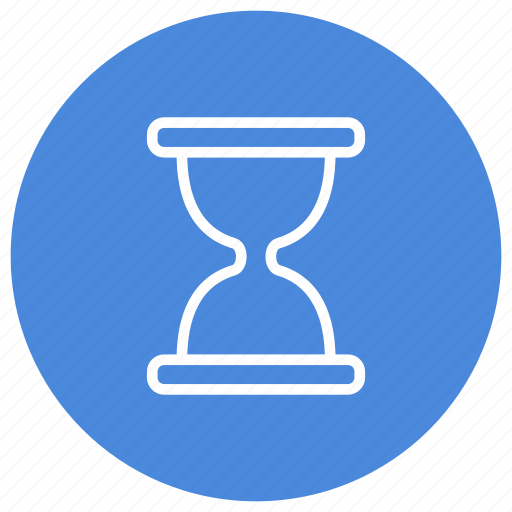 Hourglass, minutes, seconds, time, timer, wait icon - Download on Iconfinder