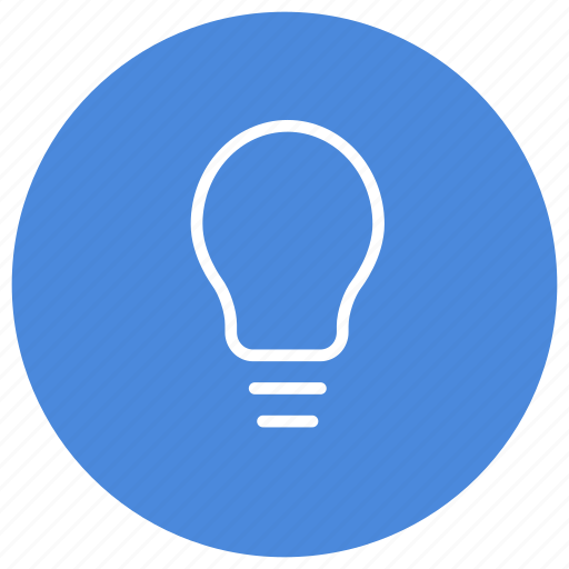 Bulb, light, electricity, energy, idea, power, creative icon