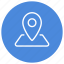 direction, gps, location, map, marker, navigation, pointer icon
