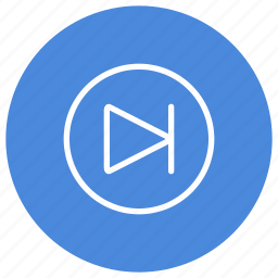 goto, media, movie, multimedia, music, next, song icon