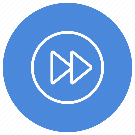 Forward, media, play, multimedia, movie, song, video icon - Download on Iconfinder