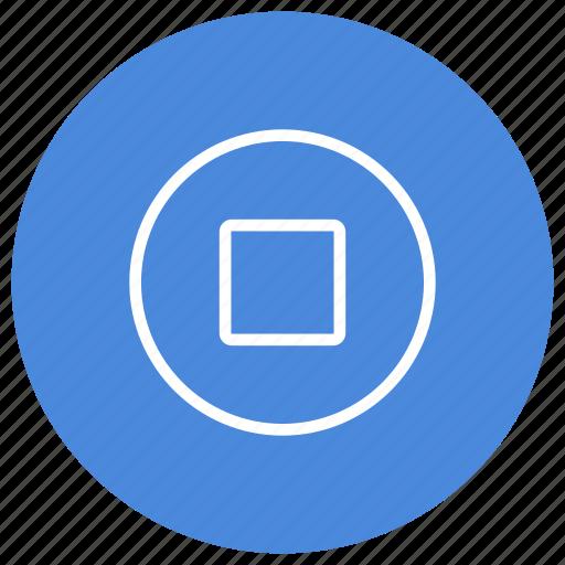media, movie, multimedia, music, play, stop, video icon