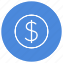 cash, coin, credit, currency, dollar, money icon