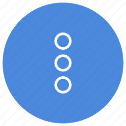 extend, more, plus, vertical icon
