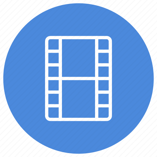 cinema, film, movie, multimedia, reel, watch icon