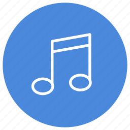 audio, listen, multimedia, music, note, song icon
