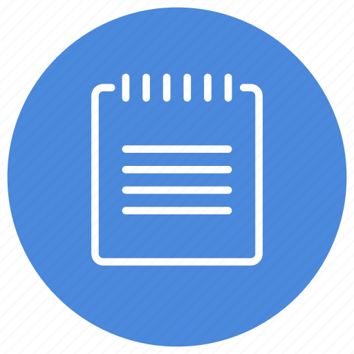 content, document, notepad, paper, read, text icon