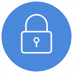 lock, locked, padlock, protect, protection, secure, security icon