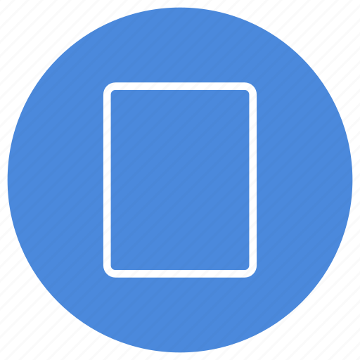 blank, create, document, file, new, page, portrait icon