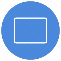 blank, create, document, file, landscape, new, page icon