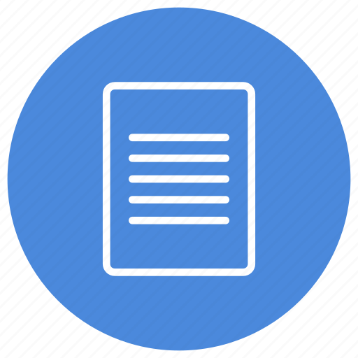 content, document, file, page, paper, read, text icon