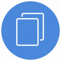 blank, create, documents, files, new, pages, several icon
