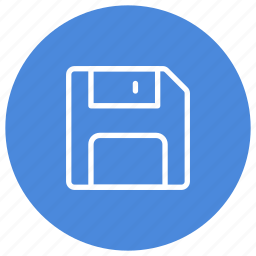 disk, file, hard disk, save, save as, storage, store icon