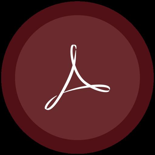 acrobat, distiller icon