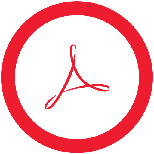 acrobat, reader icon