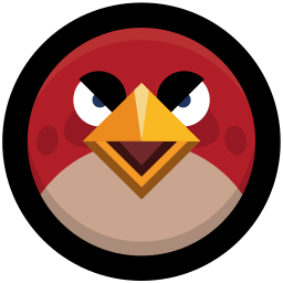 angry, birds, game icon