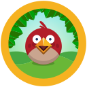 angry, birds, folder, rio icon