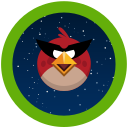 angry, game, birds, space