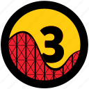 platinum, rollercoaster, tycoon icon