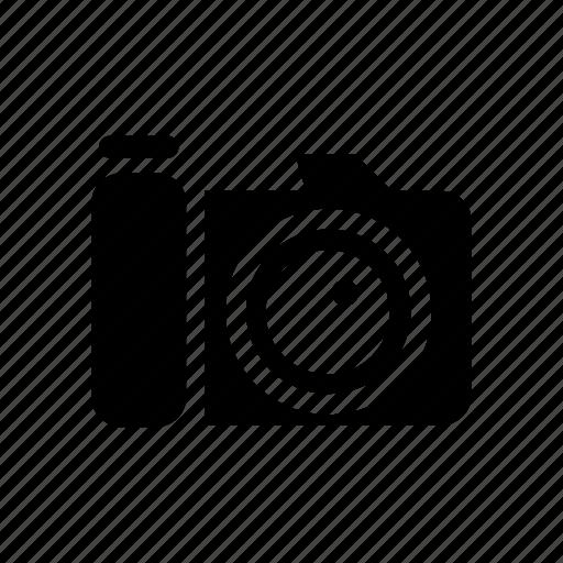 camera, hipster, park, photo, photocamera, photography, walking icon
