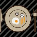 breakfast, dining, food icon
