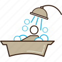 bath, clean, relax, shower icon